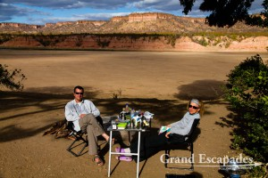 Heidi & Gilles - Pure wilderness, Chilojo Cliffs Campsite 1, Gonarezhou National Park, Zimbabwe, Africa