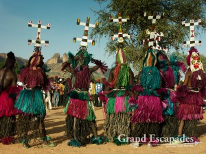 Dance of the Masks, Dogon Country, Mali, Africa