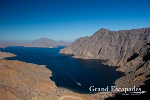 Khor as Sham, the longest Fjords of Musandam, Sultanat of Oman, Arabic Peninsula