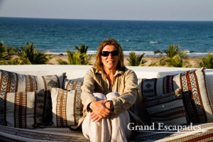 Heidi @ L'Espace Guesthouse in Muscat