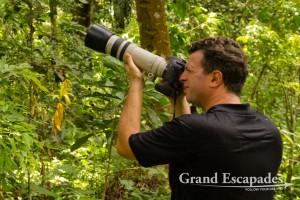 Gilles in Semliki National Park, West Uganda, Africa