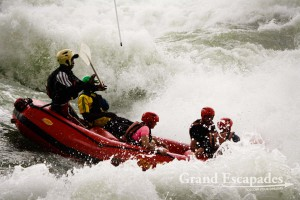 Rafting the Sources of the Nile with N.R.E., Nile Rafting Explorer, near Jinja, Uganda