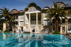 "Qavam House (also widely called ""Narenjestan e Ghavam""), Bagh-e Eram or Eram Garden Or Heaven Garden, Shiraz, Iran"