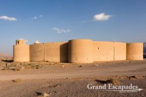 Robat-e Zayn al-Din Caravanserai, build by the Safavid government of Kerman on the Silk Road, Yazd, Iran