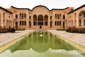 The Tabātabāei Historic House (Khāneh-ye Tabātabāeihā), Kashan, Iran