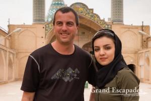 In Kashan, Iran