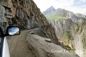 """Highway"" from Srinagar, Kashmir, to Kargil, Ladakh, India"