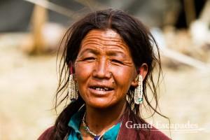 Ladakhi nomads, between Tso Kar & Tso Moriri, Ladakh, India