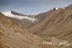 Siachen Glacier, on the way from Leh to Khardung La, Ladakh, India