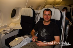 Traveling on Miles... The new Business Class from Air France, Airbus A380