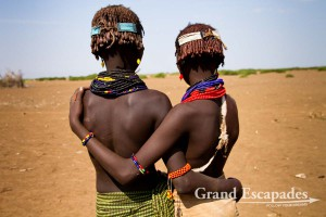 Dasanech People, across the Omo River, near Omorate, Lower Omo Valley, South Ethiopia