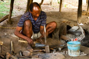 At the blacksmith - Ari Village, near Jinka, Lower Omo Valley, South Ethiopia