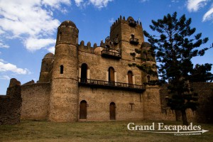 Fasilida's Casstle, Fasil Ghebbi, the Royal Enclosure, Gonder, Ethiopia