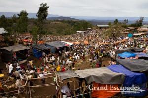 Market in Lalibela, Ethiopia