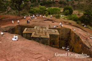 Bet Giyorgis Rock-Hewn Church, Lalibela, Ethiopia