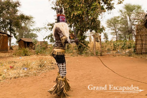 Gule Wa Nkulu - When young men are commanded by the spirits of their ancestors to dress up in very strange customs...