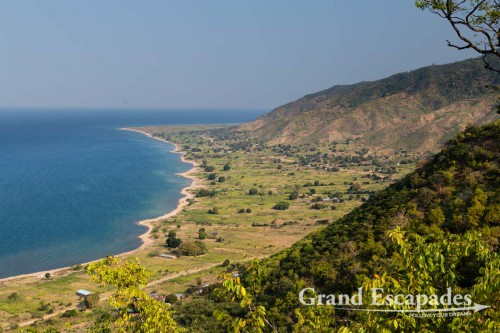 Approaching Livingstonia, the shores of Lake Malawi