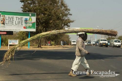 Street sellers in Lilongwe