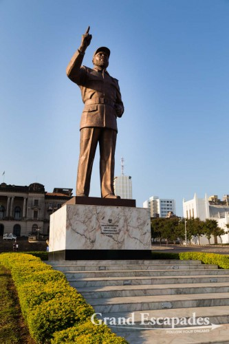Statue of Samora Machel, Mozambique's First President, Baixa District, Maputo