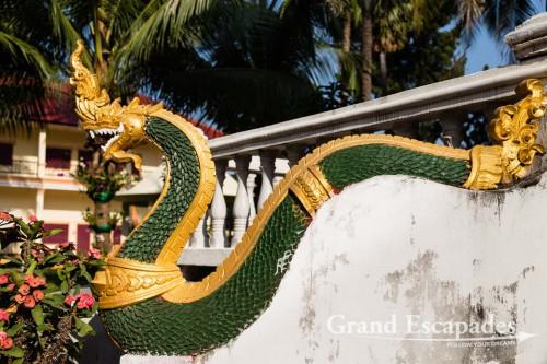 Dragon, Wat Ong Teu Mahawihan, Vientiane