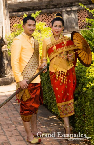 Wedding Pictures, Haw Pha Kaeo, National Museum For Religious Objects, Vientiane