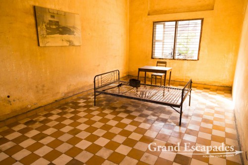 Security Office 21 or S21 of Tuol Sleng, Phnom Penh, Cambodia