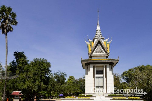 The Killing Fields of Choeung Ek, Phnom Penh