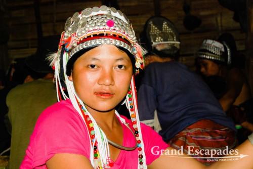 Wedding Ceremony in Ban Nam Lai, an Akha Village of 260, Luang Nam Tha National Park