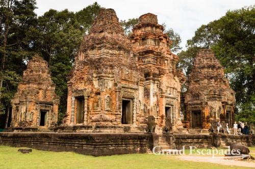 Bakong, Roluos Temples, Siem Reap, Cambodia