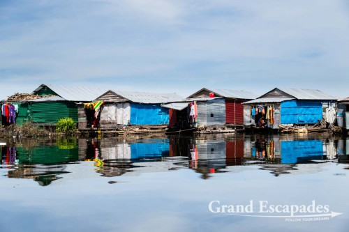 Floating Village of Kompong Luong, on the Tonle Sap