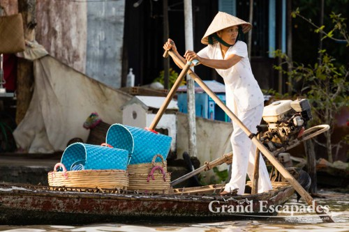 Floating Markets, Can Tho, Mekong Delta