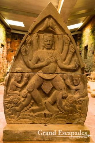 Cham Temple of My Son, a UNESCO Wolrd Heritage, near Hoi An, Vietnam
