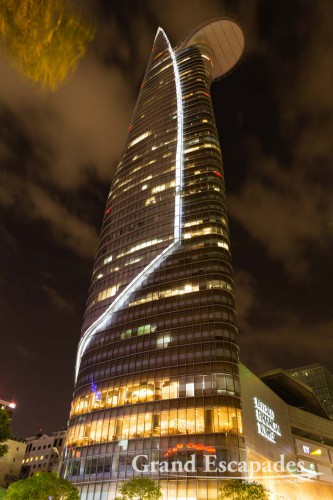 Bitexco Financial Tower at Night, Ho Chi Minh City