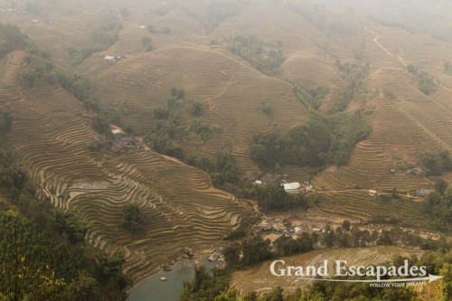Rice Terraces near SaPa, North Vietnam