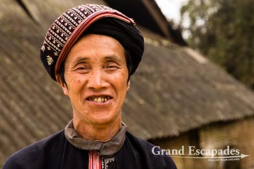 Red Dzao Village Tin Tanh, near SaPa, North Vietnam