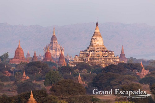 Paya Shwesandaw, Bagan, Myanmar