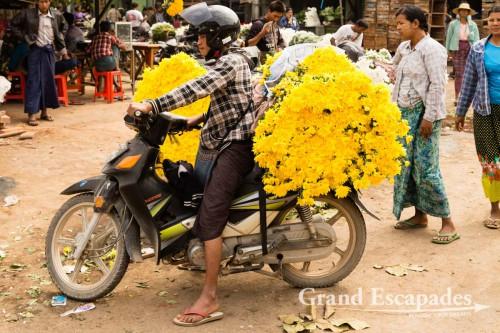 Flower Market, Mandalay, Myanmar