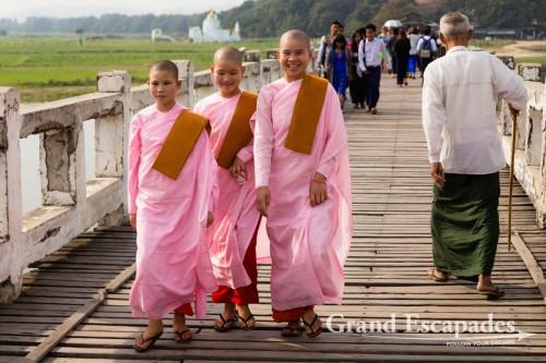 U-Bein Bridge, Amarapura, Mandalay, Myanmar
