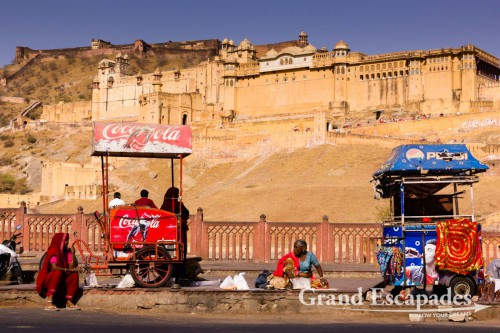 Amber Fort, near Jaipur, the Pink City, Rajasthan, India