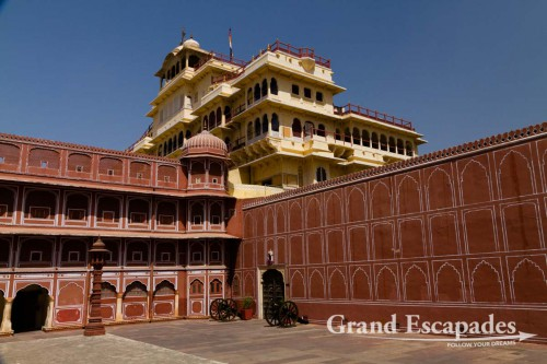 Chandra Mahal, City Palace, Jaipur, the Pink City, Rajasthan, India