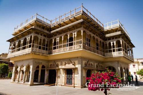 Mubarak Mahal, City Palace, Jaipur, the Pink City, Rajasthan, India