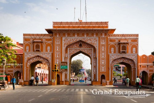New Gate, Jaipur, Rajasthan, India