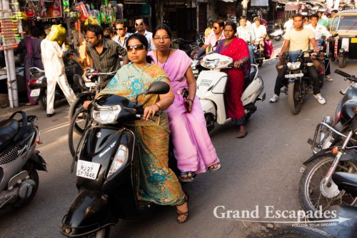 In the streets of Udaipur, Rajasthan, India