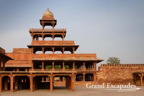Panch Mahal, Fatehpur Sikri, near Agra, Rajasthan, India