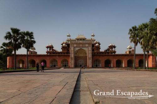 Akbar's Mausoleum, Agra, Rajasthan, India