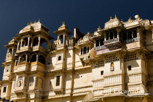 City Palace, Udaipur, Rajasthan, India