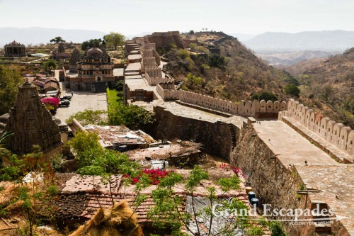 "Kumbhalgarh Fort and the ""Indian Great Wall"", Kumbhalgarh, Rajasthan, India"