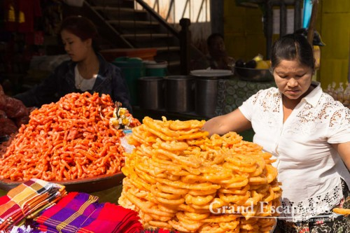Zegyo Market, Mandalay, Myanmar