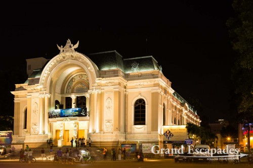 Opera House at Night, Ho Chi Minh City