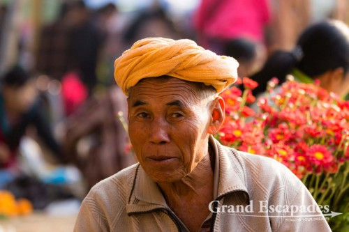 5-Day Market on Inle Lake, Myanmar - The five villages on the shore of Lake Inle take turns, so there is actually a market each day of the week.